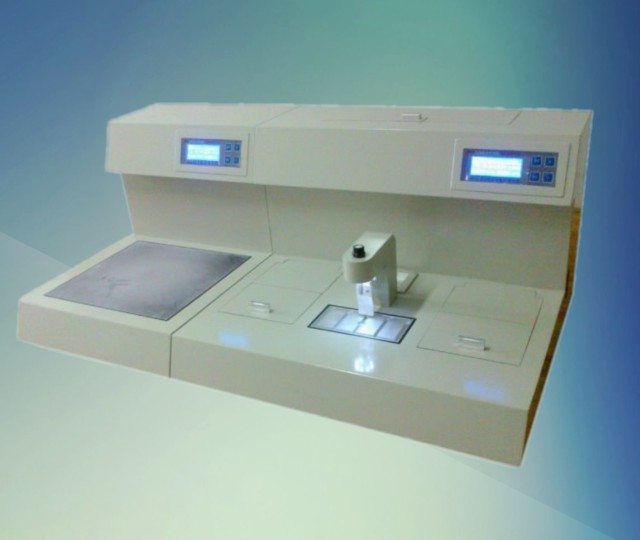 Frozen tissue emdeded machine