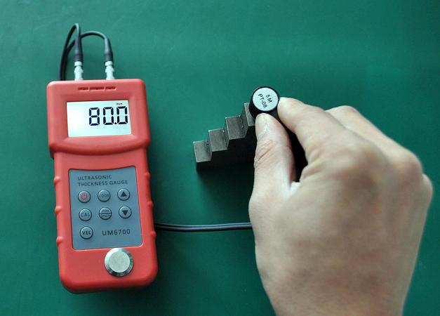 Portable Metal Tube Thickness Meter UM6700