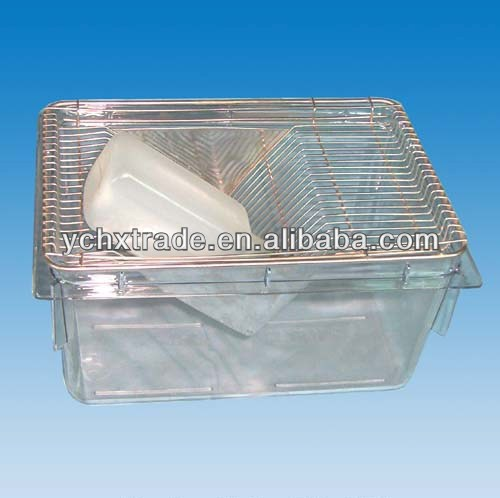 laboratory mouse cages