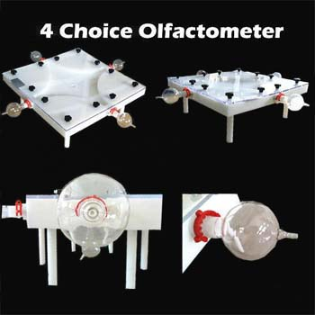 Insect olfactometer/4-Choice Olfactometer