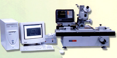 microcomputer-type tool microscope
