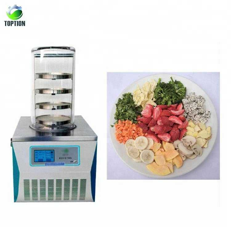 Vacuum Freeze Dryer LCD Display Lab Drying Equipment