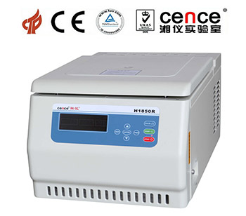 H1850R Table Top High Speed Refrigerated Centrifuge