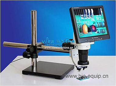 LCD Video Zoom Microscope