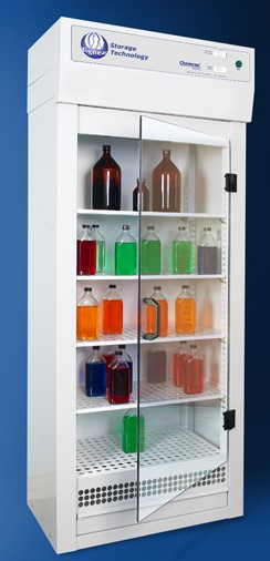 Chemcap™ Ventilated Chemical Storage Cupboards