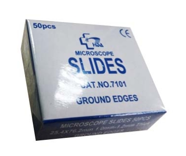 Ground Edges Biological Microscope Slides