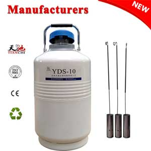 TIANCHI 10L cryogenic container YDS-10 in Congo