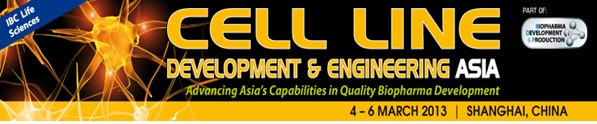 Cell Line Development & Engineering Asia 2013