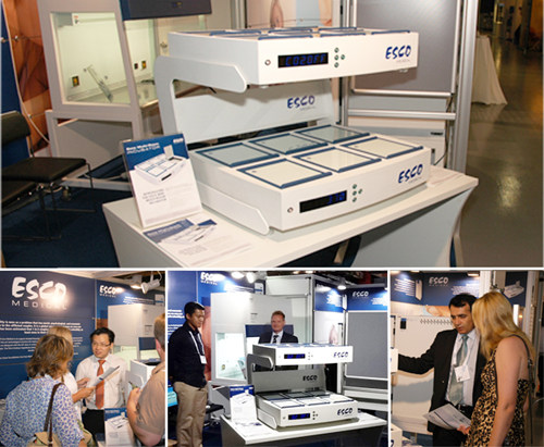 Esco Medical Unveils the New Miri Multi-Room Incubator at ESHRE 2012