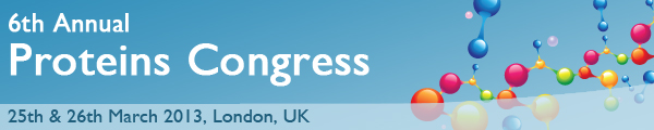 6th Annual Proteins Congress 2013
