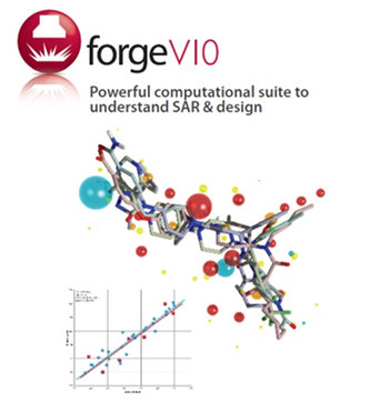 the release of a new version of its computational chemistry workbench forgeV10