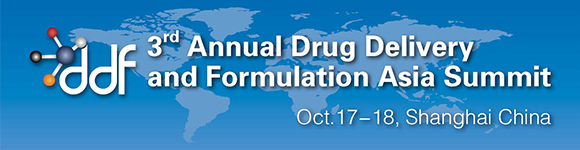 DDFAsia 2013-Drug Delivery and Formulation Asia Summit 2013(Oct.17-18,Shanghai China)