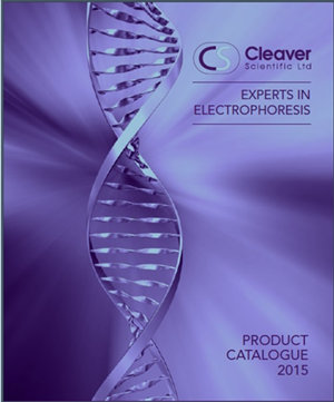 Cleaver: Specialist Catalogue for Electrophoresis Equipment & Supplies