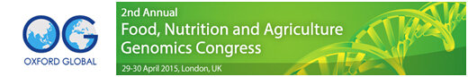 Food, Nutrition and Agriculture Genomics Congress 2015