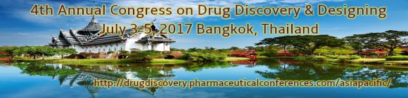 4th Annual Congress on Drug Discovery & Designing