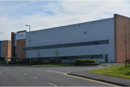 Source BioScience's Rochdale facility, site of the world's first -70°C walk-in chamber