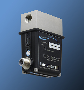 Titan:Ultrasonic Flow Meter for Process & Control