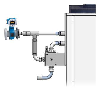 Huber: Measure and Control Flow Directly at the Temperature Control Unit
