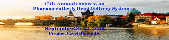 17th Annual Congress on Pharmaceutics & Drug Delivery Systems