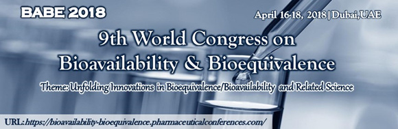 9th World Congress on Bioavailability and Bioequivalence