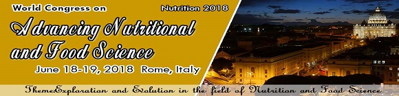 World Congress on Advancing Nutritional and Food Sciences