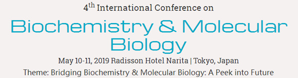4thInternational Conference on Biochemistry & Molecular Biology