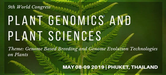9th World Congress on Plant Genomics and Plant Sciences9th World Congress on Plant Genomics and Plant Sciences