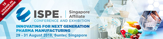 ISPE Singapore Conference and Exhibition 2018