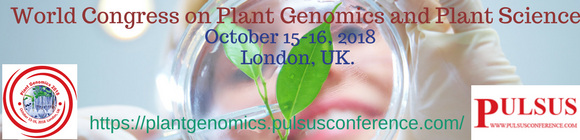 World Congress on Plant Genomics and Plant Science(Plant Genomics 2018)