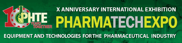 X Anniversary international exhibition of equipment and technologies for the pharmaceutical industry PHARMATechExpo
